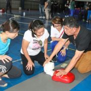 Responding well to CPR training