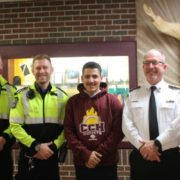 17 yo Teen saves father's life with CPR