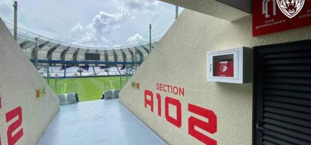 JDT provided 20 AED machines to Sultan Ibrahim Stadium for ensuring heart attacks can be treated earlier