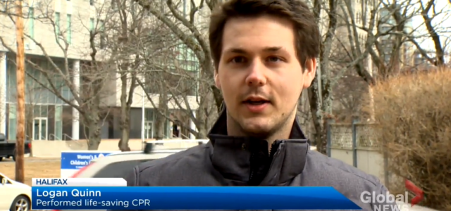 CPR for ten minutes saves the life of his 15-year-old sister